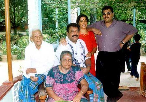 Prabaharan-–-family